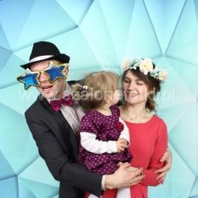 Tło-Fotograficzne-niebieskie geometryczne-Fotobudka-Szalone-Fotki-2